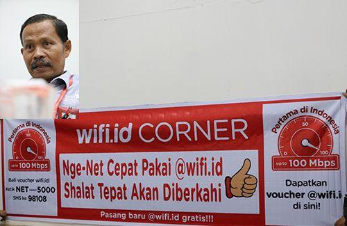 Warung kopi di Aceh diselimuti WiFi.id