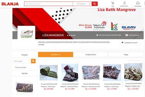 Cerita Liza Mangrove Go Online bersama RKB