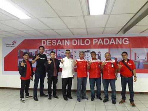 Hadirkan DILo, Telkom dukung digitalpreneur di Padang