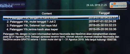 Nexmedia hentikan siaran, inikah alasannya?