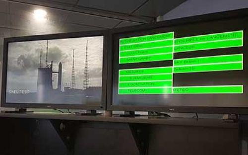 2 jam jelang peluncuran, bahan bakar satelit T3S terus diisi