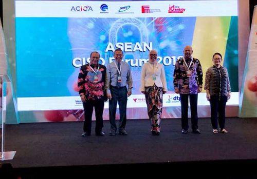 Telkom edukasi isu keamanan siber di ASEAN CISO FORUM 2018