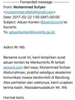 Dear Kominfo, kenapa Seword belum diblokir?