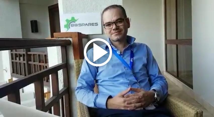 CEO & Co-Founder 88Spares.com Hartmut Molzahn bicara tentang startup yang didirikannya Part 1