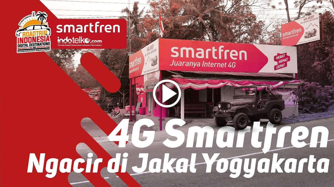 Di Jakal, akses data Smartfren Ngacir