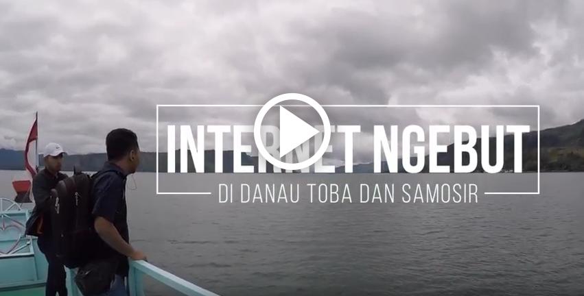 Ada 4G di Ajibata Danau Toba dan Pulau Samosir