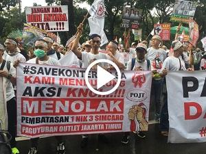 Terungkap Tuntutan Aksi Damai Ribuan Penjual Pulsa