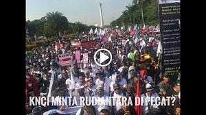 Aksi KNCI Meminta Presiden Jokowi Pecat Rudiantara