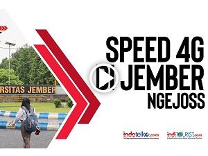 Speed 4G di Jember Nge Joss