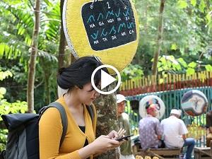 Pasar Tahura minim akses internet