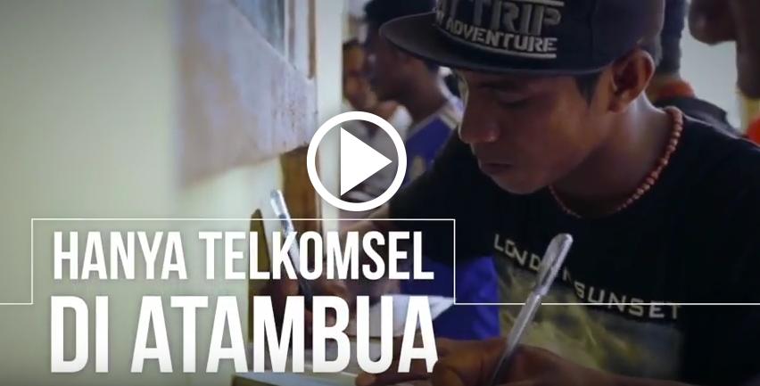 Sinyal Telkomsel di Atambua
